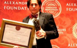 ALEXANDRU DARIDA LAUREAT AL PREMIULUI CONSTANTIN BRANCOVEANU INTERNATIONAL LA NEW…